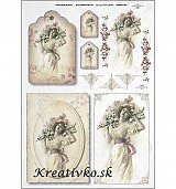 - Ryžový papier - R 0362  Slečna - 2787032