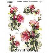 - Ryžový papier - R 0392  Ruže - 2787101
