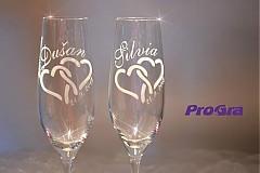 Carmelitta - svadobné poháre - 2ks