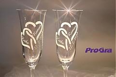 Nádoby - Suzan - svadobné poháre - 2ks - 2791696