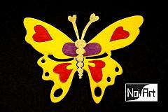 Magnetky - Motýľ - 279278