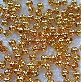 - Kov.korálky 3,2mm-zlatá-50ks - 2797333