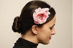 Ozdoby do vlasov - Jemná ružová čelenka by Hogo Fogo - 2800267