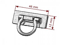 Galantéria - kovové zapínanie 10 - 2809572
