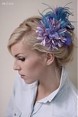 Ozdoby do vlasov - Levandulova spona by Hogo Fogo - 2814938