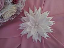 Ozdoby do vlasov - Biely kvet do vlasov - 2830818