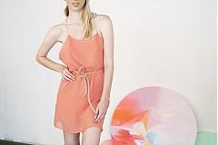 Šaty - Letné šifónové vzdušné šaty, Festive by me&m - 2833571