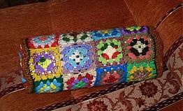 Úžitkový textil - Ovál vankúšik - obliečka - 2836274