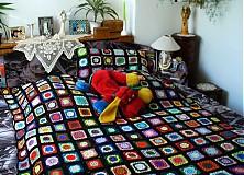 Úžitkový textil - Kucsi-kucsi plachta - prehoz na posteľ - 2836413