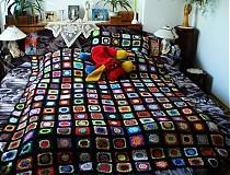 Úžitkový textil - Kucsi-kucsi plachta - prehoz na posteľ - 2836416