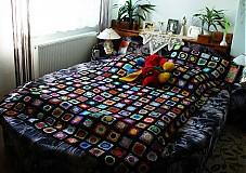 Úžitkový textil - Kucsi-kucsi plachta - prehoz na posteľ - 2836417