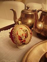 Dekorácie - vianoce - santagule - 284223