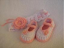Detské súpravy - sandálky + čelenka - 2851528