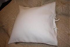 Úžitkový textil - Špaldový vankúšik s obliečkou - 285179