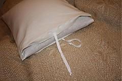 Úžitkový textil - Špaldový vankúšik s obliečkou - 285181