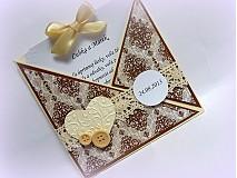 Papiernictvo - Vanilka, čokoládka, oriešok - ingrediencie šťastíčka a lásky - 2874400
