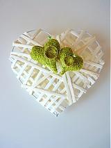 Svadba - svadobné srdce na obrúčky... - 2877200