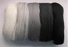 Textil - Extra jemná merino vlna sivá - 287876