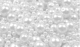 - Voskované perličky Ø 4-12 mm - 50 g  - 2884651