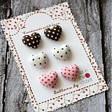 Náušnice - Náušky Punch cake cena za jeden pár - 2896078