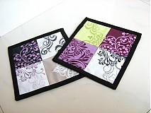 Úžitkový textil - City blocks - podložky v moderních barvách - 2923736