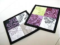 Úžitkový textil - City blocks - podložky v moderních barvách - 2923737