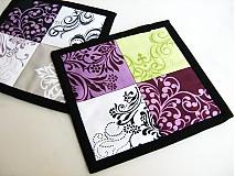 Úžitkový textil - City blocks - podložky v moderních barvách - 2923738