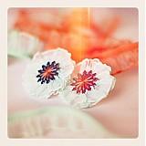 Náušnice - Zeleninka jarná kvitne (38t) - 2924606