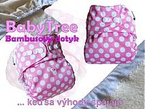 Detské doplnky - Marshmallow - Kapsovka s bambusovým dotykom (veľ.S-M-L) - 2926635