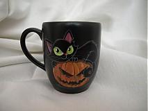 Nádoby - hrnček - Halloween Kitty - 2928134