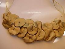 Náhrdelníky - saténový náhrdelník - 2929625