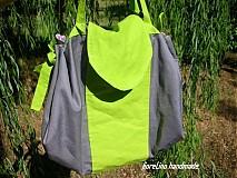 Veľké tašky - taška na piknik - obrus prestri sa! - 2933453