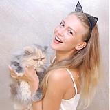 Ozdoby do vlasov - Catwoman ... čelenka - 2947539