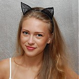 Ozdoby do vlasov - Catwoman ... čelenka - 2947540