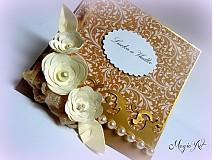 Papiernictvo - Zlato láskou pobozkané... - 2951479
