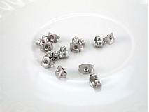 Komponenty - Zarážka na náušnice /M2001/ - chir.oceľ 316L - 2953953