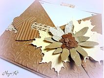Papiernictvo - Jesenná slnečnica... - 2956806