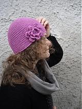 Čiapky - fialová...hneď - 2960187