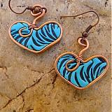 - Modré srdiečka - darček k objednávke - 2968933