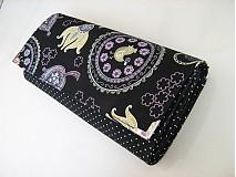 Peňaženky - Happy Birds - velká, na 10 i více karet - 2977518