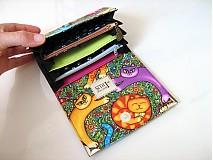 Peňaženky - Veselé kočičky - na karty a 2 měny - 2977588