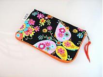 Na mobil - Květinkoví motýlci - pouzdro na mobil - 2977683