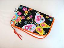Na mobil - Květinkoví motýlci - pouzdro na mobil - 2977684