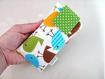 Na mobil - Barevní ptáčci - pouzdro na mobil - 2977716