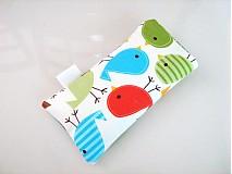 Na mobil - Barevní ptáčci - pouzdro na mobil - 2977718