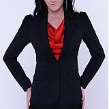 Kabáty - Sakový kabátik s nariasenými rukávmi - 2986306