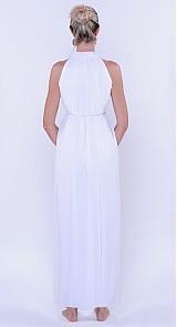 Šaty - Šifónové nariasené spoločesnké šaty rôzne farby - 2986589