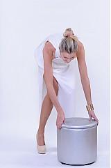 Šaty - Šifónové nariasené spoločesnké šaty rôzne farby - 2986611