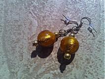 Náušnice - Náušnice do zlatova - 2995235