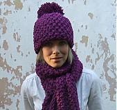 Čiapky - čiapka brmbolcová Amélia - 3007561